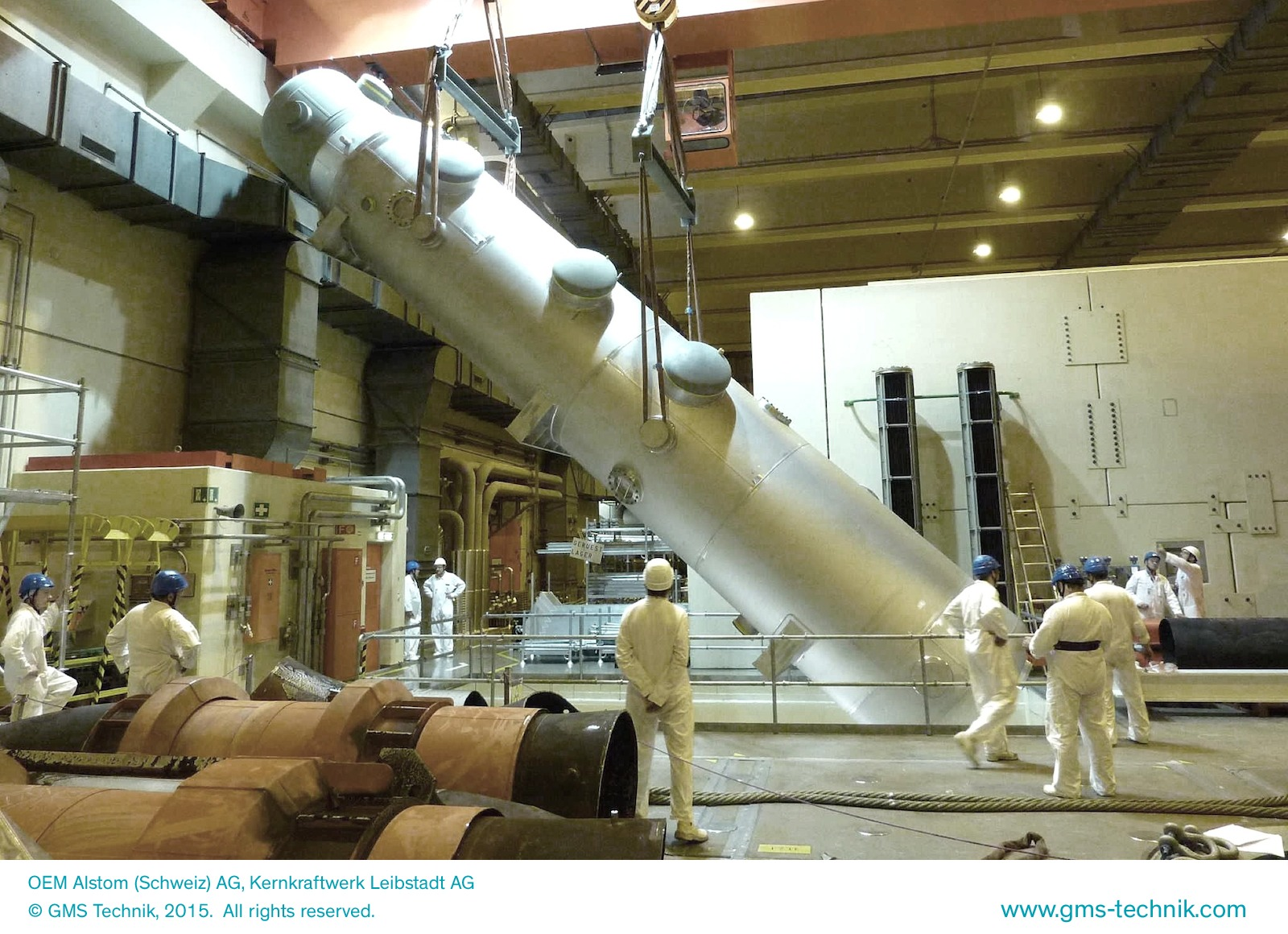 OEM Alstom (Schweiz) AG, Kernkraftwerk Leibstadt AG
